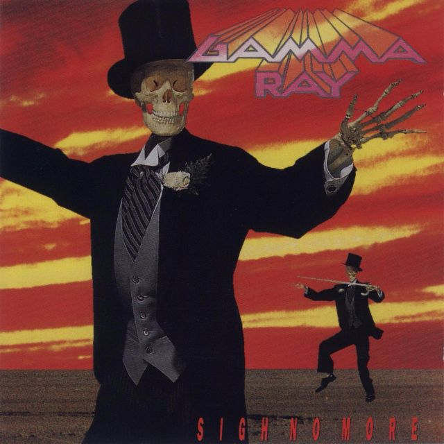 Kwikku, Band Gamma Ray pakai cover tengkorak Tapi kok tengkorak yang belakang gitu ya