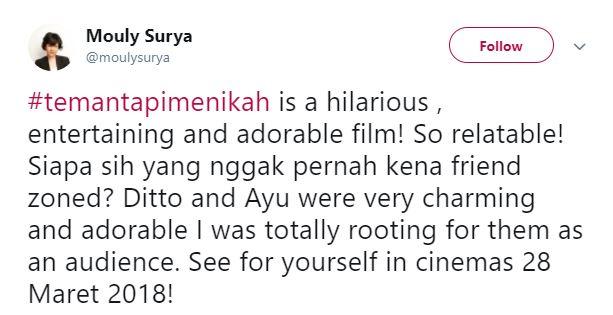 Kwikku, Tunggu tanggal mainnya di seluruh bioskop Indonesia ya