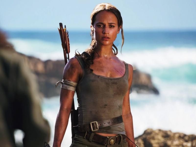 Kwikku, Alicia Vikander Tomb Raider