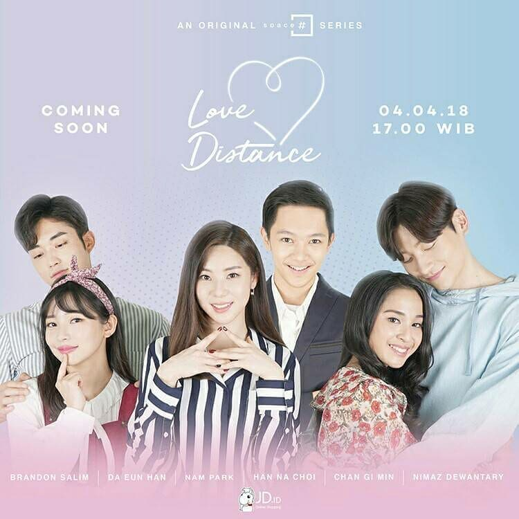 Kwikku, Love Distance menceritakan tentang  pasangan beda negara yakni Indonesia  Korea