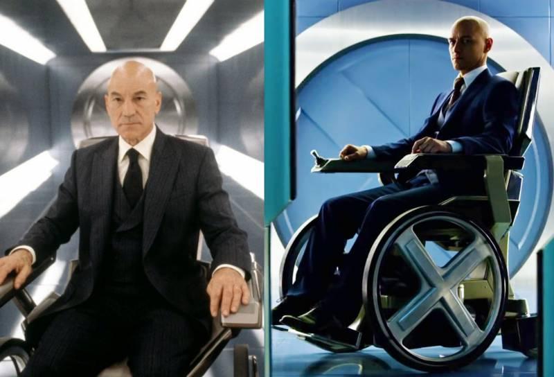 Kwikku, Professor Charles Xavier pertama kali diperankan oleh Patrick Stewart Kemudian versi terbaru diperankan dengan yang lebih muda yakni James McAvoy