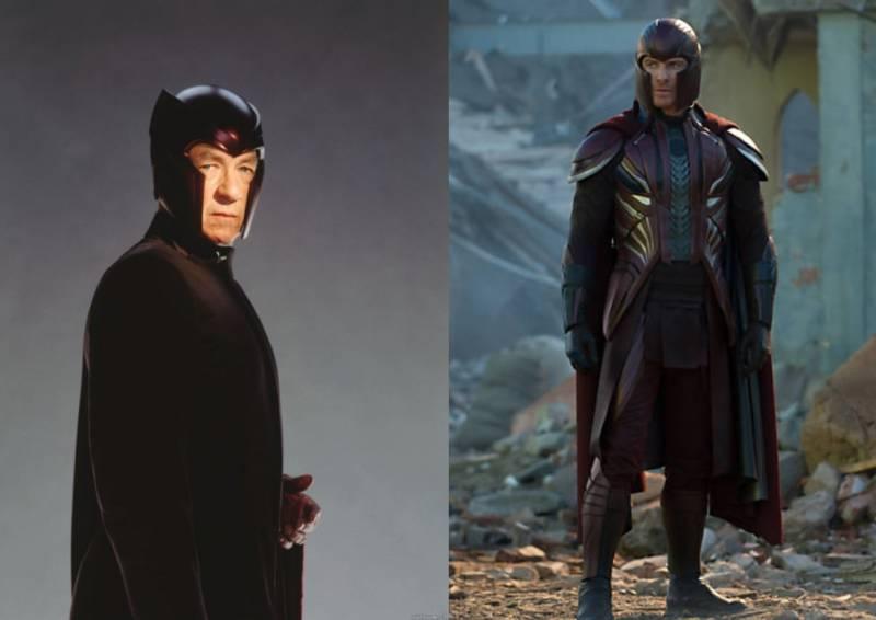Kwikku, Mutan sahabat Professor X dulu diperankan oleh McKellen Sedangkan pada versi baru ada Michael Fassbender
