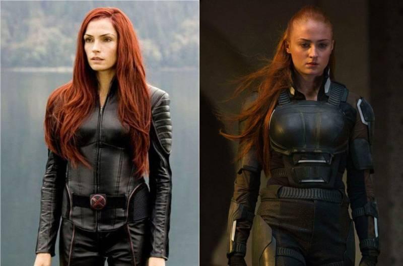 Kwikku, Jean Grey dikisahkan punya kekuatan yang dahsyat Versi lama diperankan oleh Famke Janssen Sedangkan versi terbaru oleh Sophie Turner