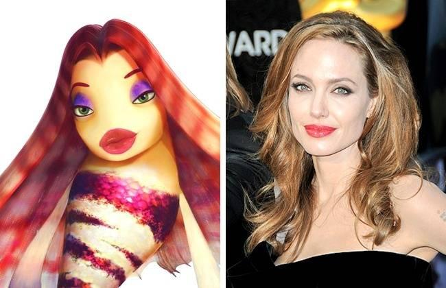 Kwikku, Bentuk bibir Angelina Jolie dan Lola emang mirip