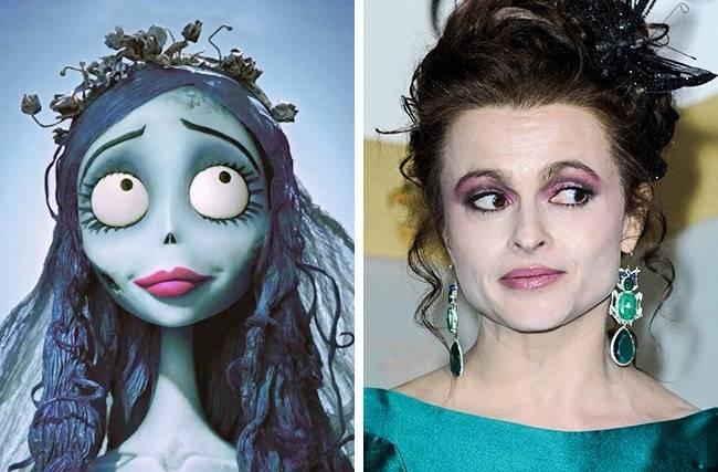 Kwikku, Apakah Emily terinspirasi dari Helena Bonham