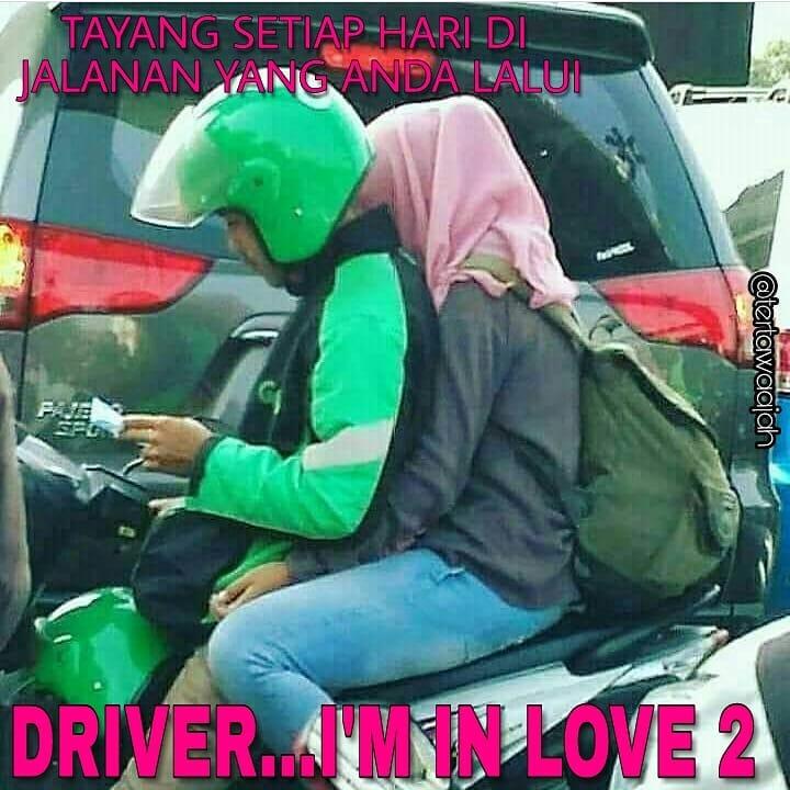 Kwikku, Ketika driver ojek online jatuh cinta