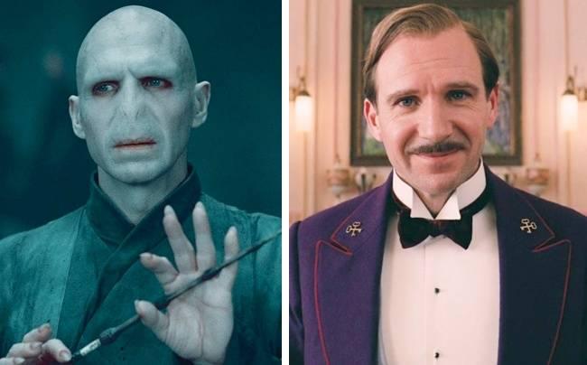 Kwikku, Ralph Fiennes terkenal dengan karakter jahatnya sebagai Lord Voldemort di film Harry Potter Di lain sisi ia tampak memukau dengan peran baik ikoniknya di film Grand Budapest Hotel