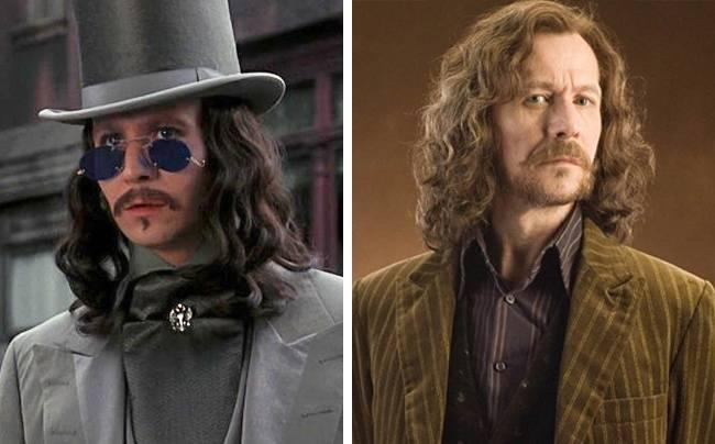 Kwikku, Gary Oldman juga turut berperan protagonis dalam film Harry Potter Namun ia bisa jadi bengis saat memerankan karakter jahat di film Dracula