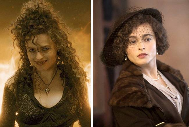 Kwikku, Helena Bonham Carter terlihat menakutkan dalam film Harry Potter Tapi ia tampak anggun dalam film The Kings Speech