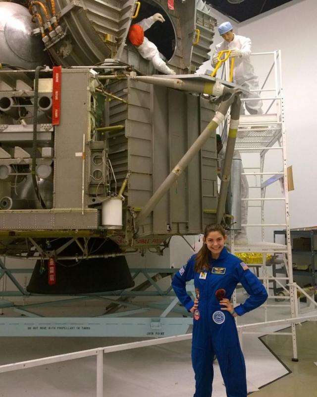 Kwikku, Ini adalah gayanya saat mengikuti pelatihan di NASA