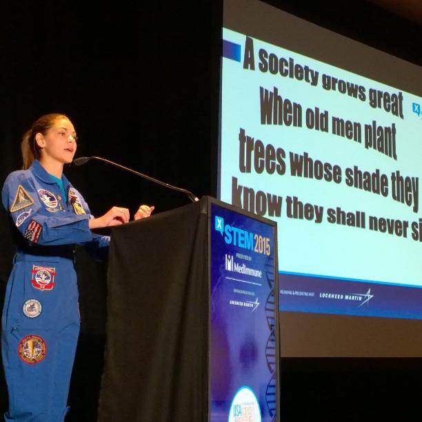 Kwikku, Selain sebagai calon astronot ia juga sering tampil di depan umum