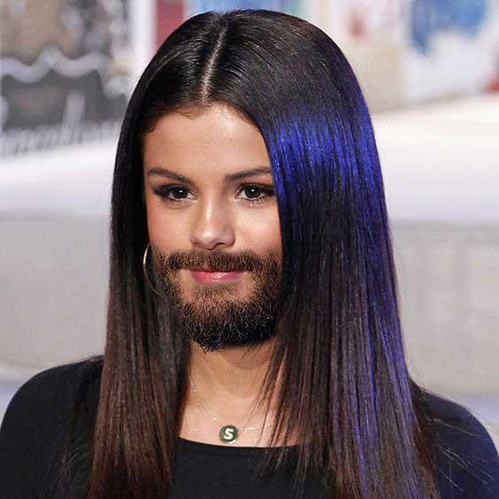 Kwikku, Selena Gomez selama suntik hormon lakilaki
