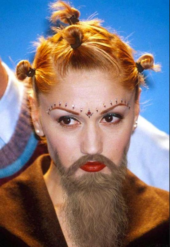 Kwikku, Sadap deh ah jenggotnya Gwen Stefani
