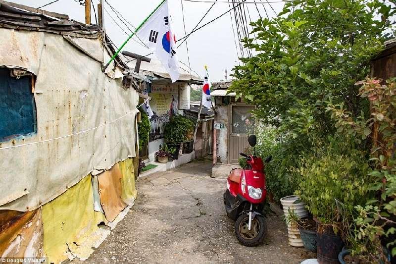 Kwikku, Pemukiman kumuh yang terselip di tengah Kota Seoul
