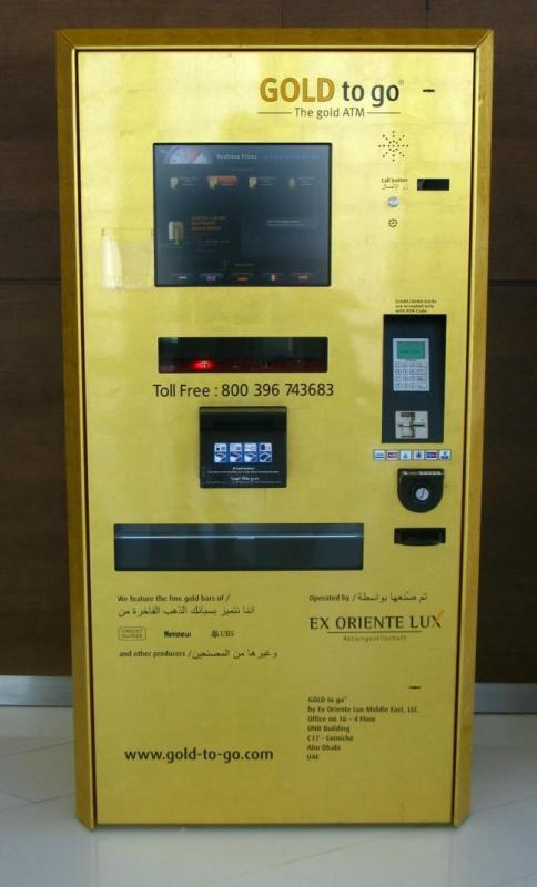 Kwikku, ATM yang bisa narik emas batangan