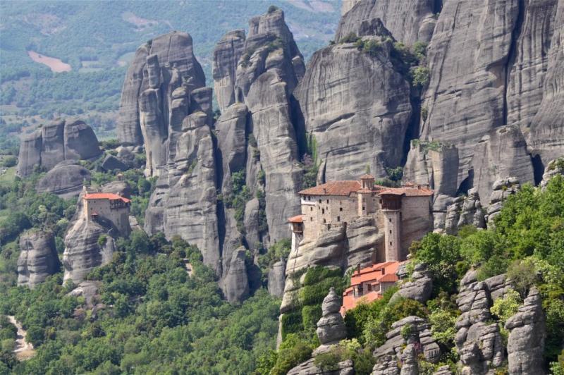 Kwikku, Rumah Biksu Ortodoks Yunani