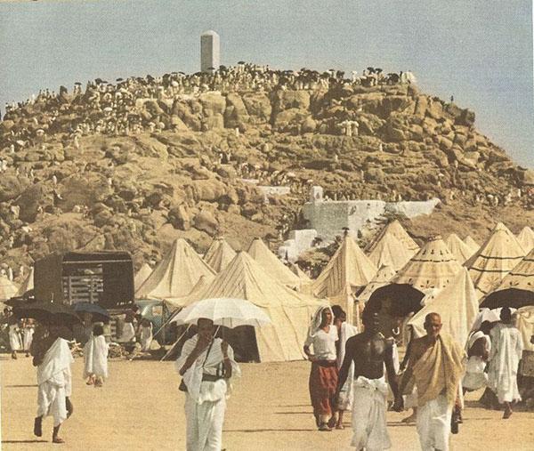 Kwikku, Suasana Padang Arafah dan Jabal Rahmah