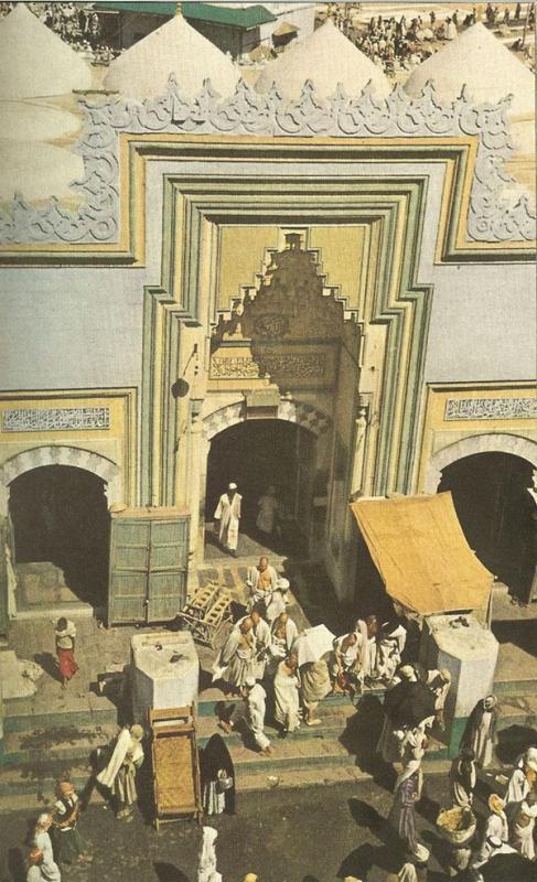 Kwikku, Salah satu pintu masuk ke Masjidil Haram