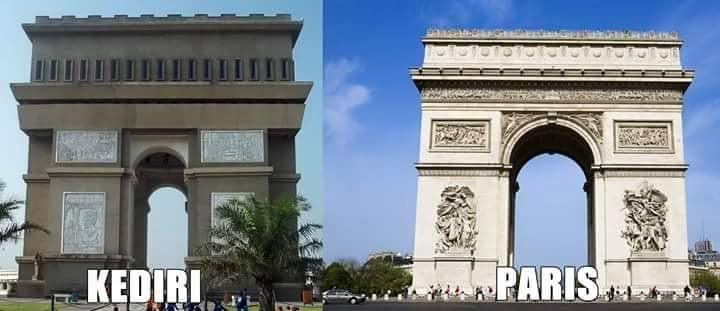Kwikku, Kediri VS Paris