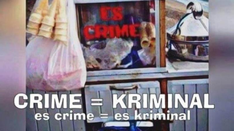 Kwikku, Es kriminal Bagi yang membeli siapsiap masuk bui