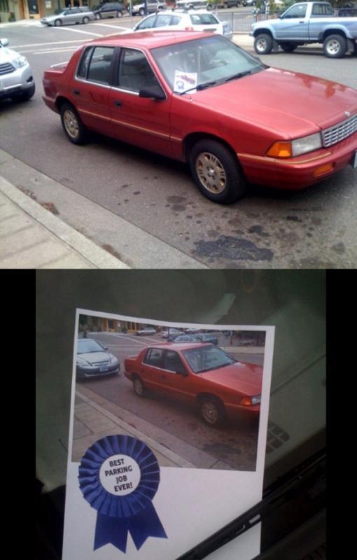 Kwikku, Ini juga nih parkirnya terlalu nengah Mengganggu pengendara lainnya
