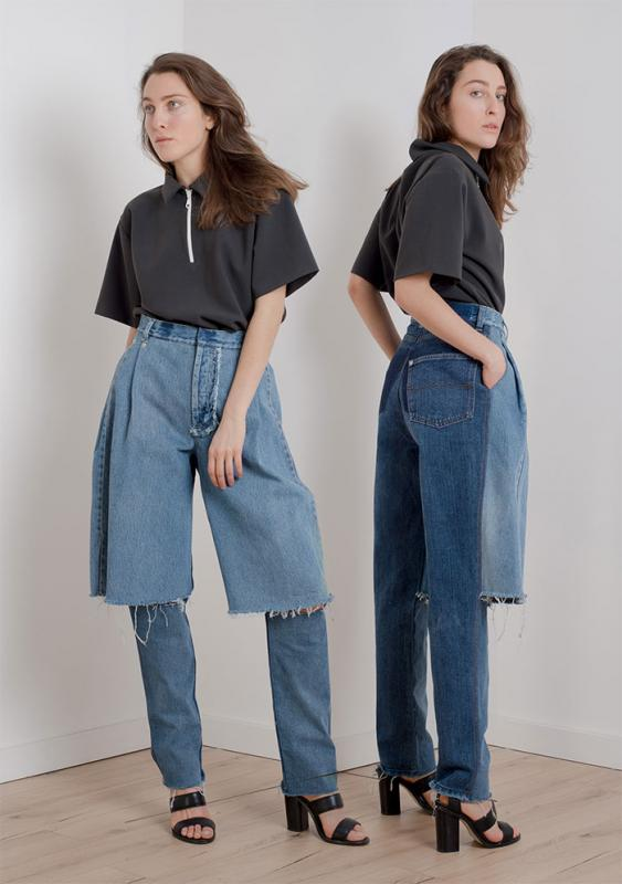 Kwikku, Celana jeans double Aduh pasti gerah banget