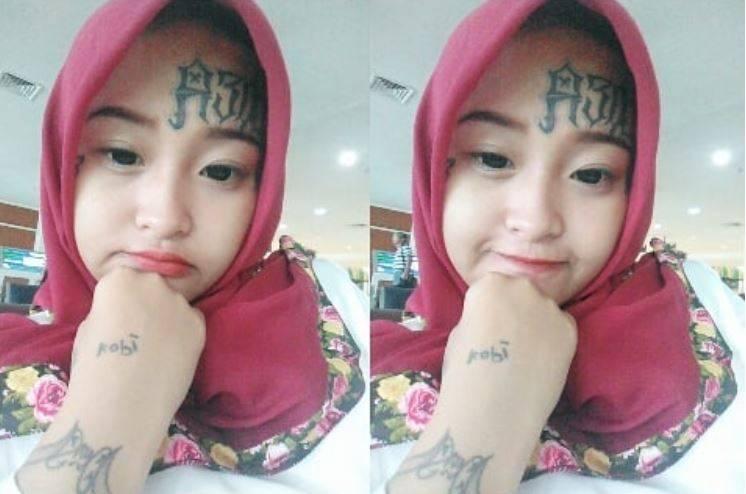 Kwikku, Cewek penggemar band Slank ini menyukai tato dan mulai menggambar tubuhnya sejak usia  tahun Namun kini setelah berhijab ia ingin menghapus tato tersebut