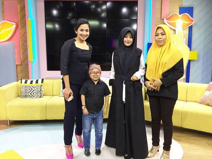 Kwikku, Setelah viral di media sosial akhirnya Iska yang kini berusia  tahun diundang di sebuah acara talkshow di salah satu televisi swasta