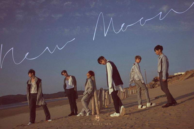 Kwikku, Persembahan spesial dengan Mini Album berjudul New Moon