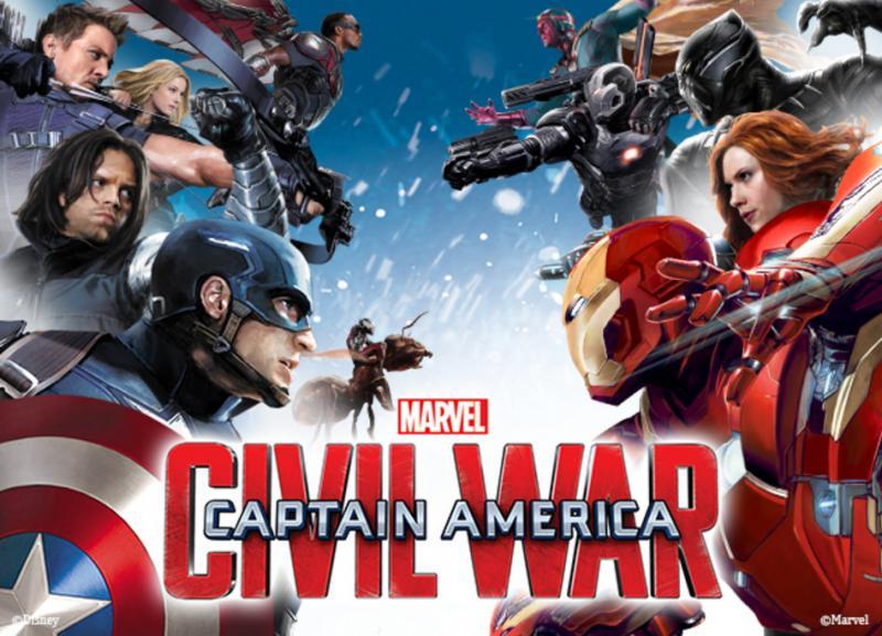 Kwikku, Captain America Civil War tidak membutuhkan waktu lama untuk mengumpulkan omzet  triliun rupiah hanya dalam waktu  hari saja