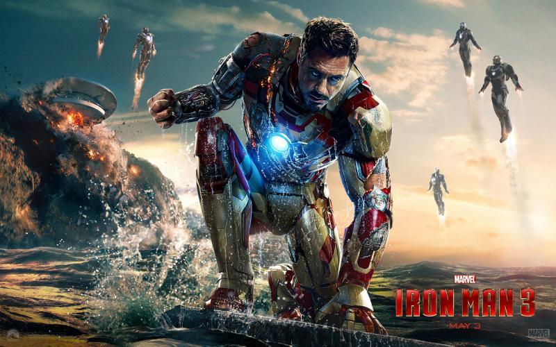 Kwikku, Iron Man  yang diperankan oleh Robert Downey Jr berhasil mengumpulkan keuntungan  triliun rupiah selama  hari masa penayangan