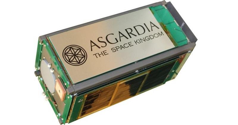 Kwikku, Asgardia sudah diluncurkan