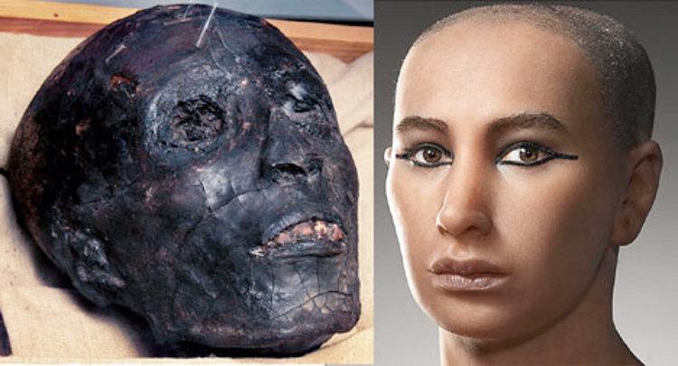 Kwikku, Mumi Firaun Tutankhamun