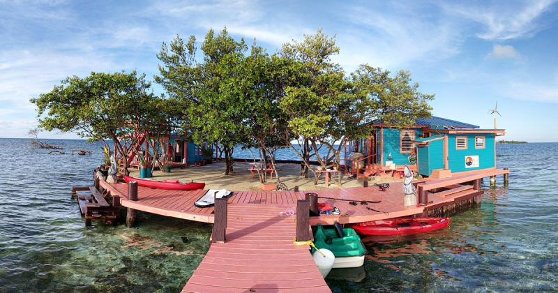 Kwikku, Bird Island Placencia Belize  Stann Creek Dist