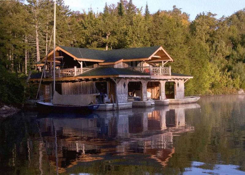 Kwikku, Private Island in Adirondacks  Saranac Lake
