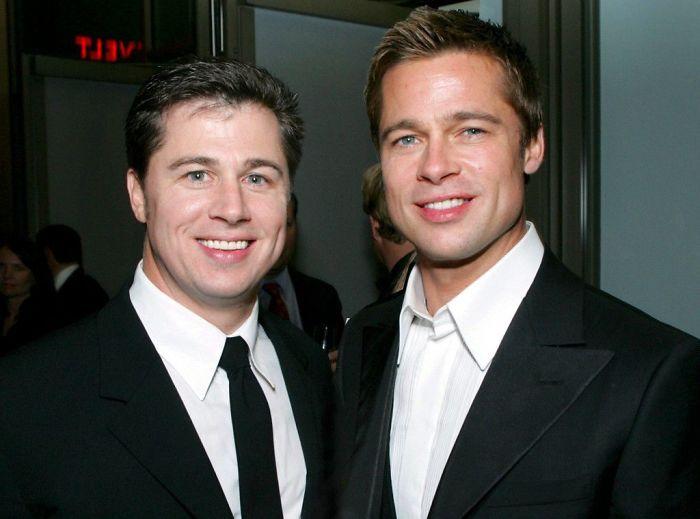 Kwikku, Brad Pitt dan kakaknya Doug