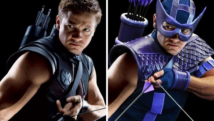 Kwikku, Hawkeye serba ungu kurang matcho ya