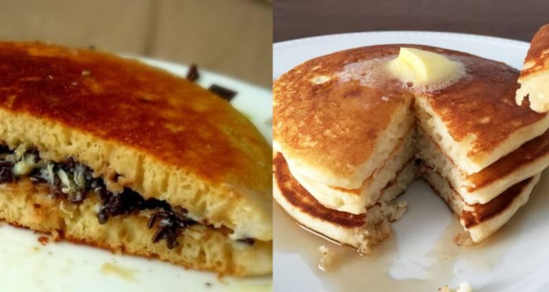 Kwikku, Kalau kamu pernah makan pancake pasti yang terbersit diingatan adalah terang bulan Keduanya memang memiliki tekstur yang sama namun dengan cita rasa yang berbeda