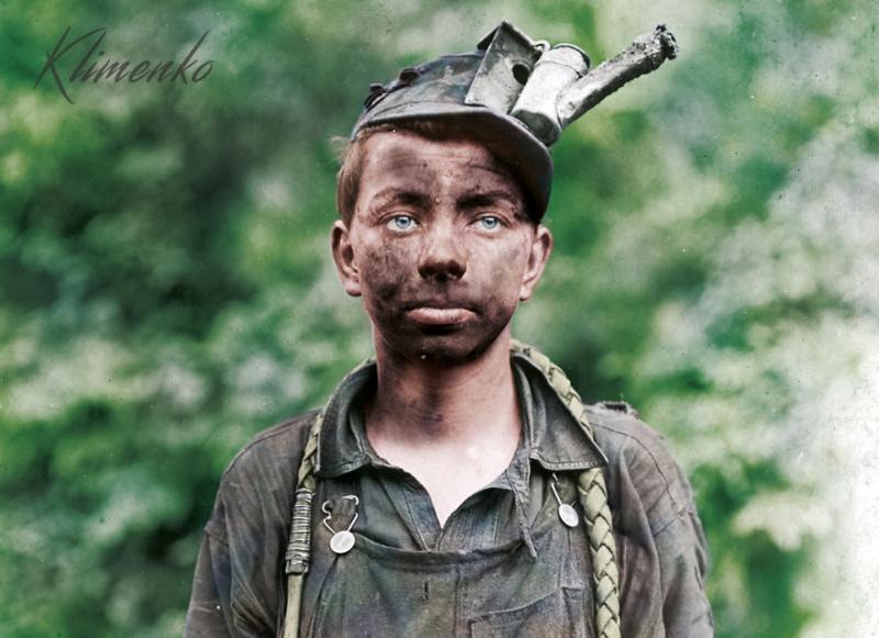 Kwikku, Pengemudi muda di Brown Mine Virginia Barat pada September