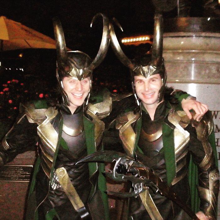 Kwikku, Tom Hiddleston Loki kompakan bareng stuntman Paul Lacovara