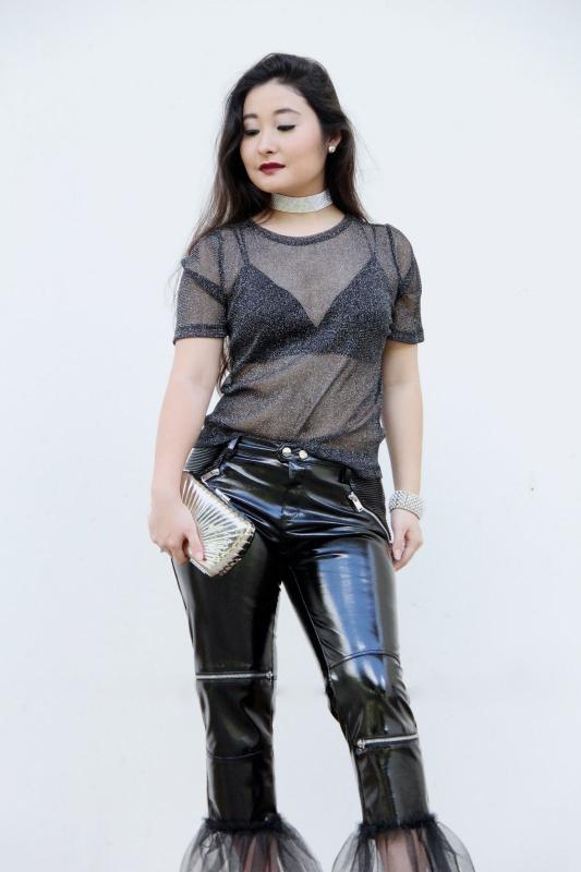 Kwikku, Gaya lebih eksentrik dengan paduan tulle pada bagian bawah pants