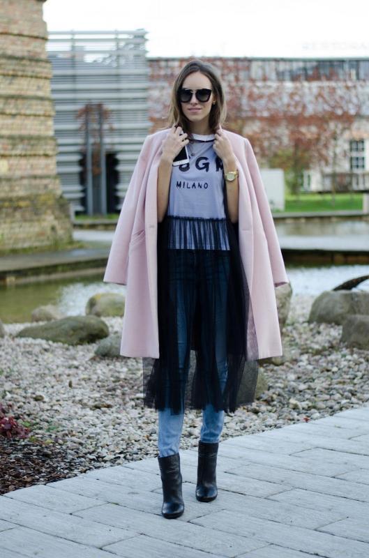 Kwikku, Tshirt with tulle memberikan gaya street lebih bervariasi