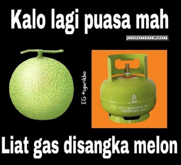 Kwikku, Nah tuh bayangin aja gigitin tabung gas pas siangsiang garagara dikira melon