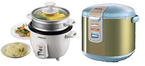 Kwikku, Lihat rice cooker langsung keinget nasi yang mengepul Sedap banget kalau disantap pas siang Eits tapi nggak boleh