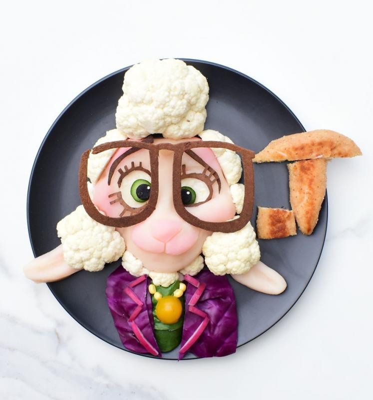Kwikku, Buah sayur dan daging lebih nikmat dengan karakter Assistant Bellwhether