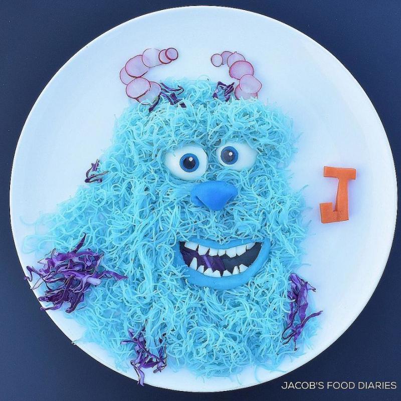 Kwikku, Mienya lebih menggiurkan dengan karakter Sully dari Monster Inc