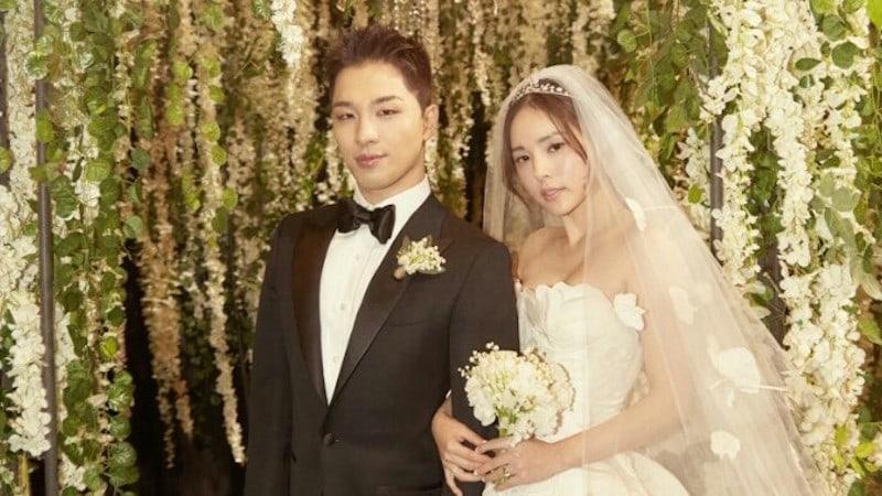 Kwikku, Pernikahan member Bigbang Taeyang dengan kekasihnya Min Hyo Rin masih hangat di telinga penggemar Keduanya menggemar pesta pernikahan meriah pada Februari  dan disambut penuh bahagia oleh fans