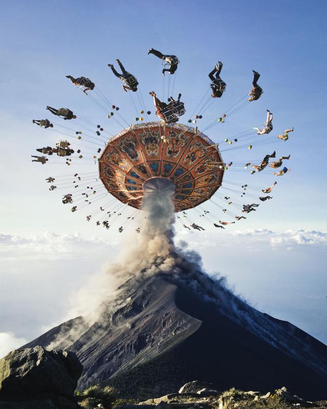 Kwikku, Eruption of Joy bersenangsenang di atas erupsi