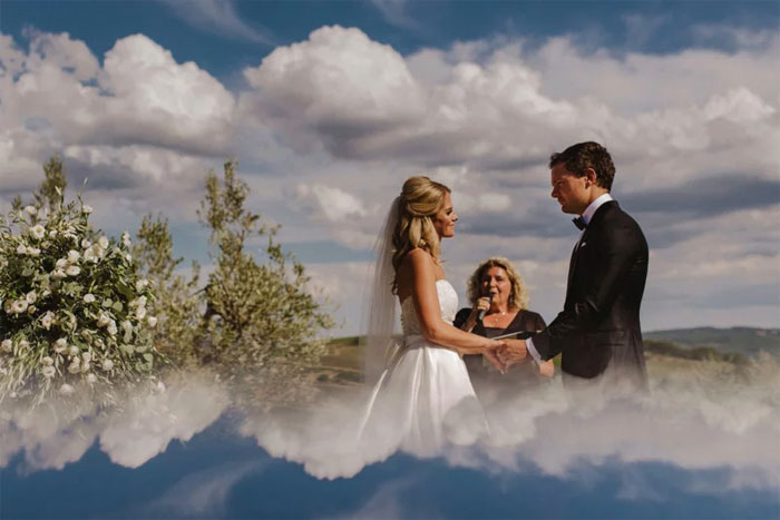 Kwikku, Seperti menikah di atas awan