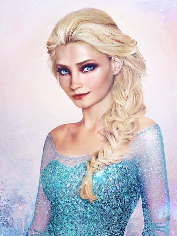 Kwikku, Queen Elsa  Frozen